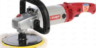 Мощная машина полировальная ЗУБР ЗПМ-1300Э широко используется в автосервисах для проведения заключительных этапов кузовного ремонта. В комплектацию входят насадки для выполнения полировочных и шлифовочных функций.